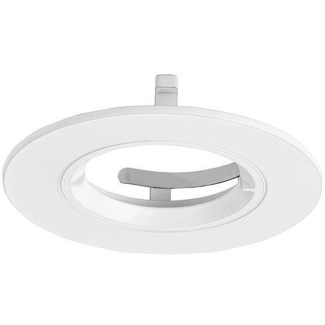 Enlite EFD Pro Satin Nickel 90mm Fixed Aluminium Lock Ring Bezel for EN-DLM981X Downlight