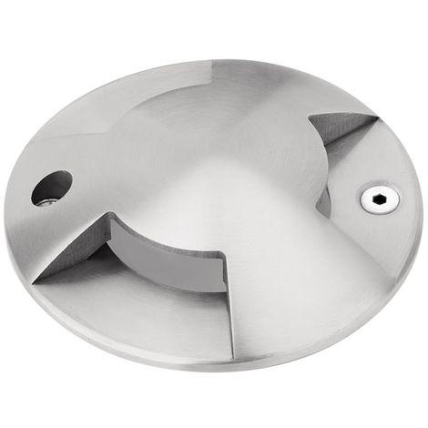 Enlite G-Lite Stainless Steel Recessed Ground Light Bezel - 3 way