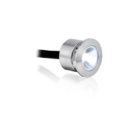 Enlite Low Voltage Round IP68 1W LED Marker Light Cool White