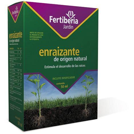 Enraízante de Origen Natural para Desarrollo de Raíces c/ dosificador FERTIBERIA 50 ml