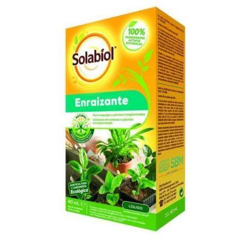 Enraizante líquido para esquejes y plantas trasplantadas SOLABIOL 40ml