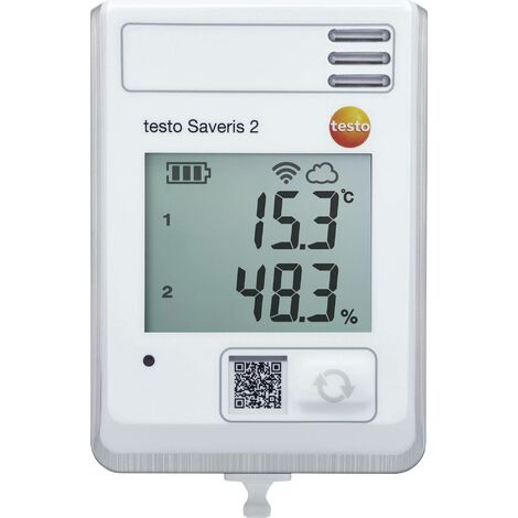 Enregistreur de données multifonctions testo Saveris 2-H1 0572 2034 Valeur de mesure température, humidité de l'air -30 à 50 °C 0 à 100 % HR 1 p S689521