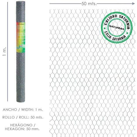 "main image of ""Enrejado triple torsion 50/ 150 cm. rollo 50 metros uso domestico"""