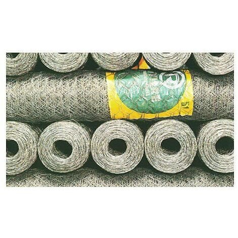ENREJADO TRIPLE TORSION N 19/100 ROLLO 10 M