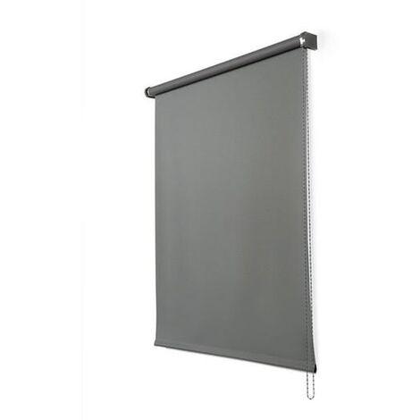 Enrollable Opaco Gris grafito 45X180