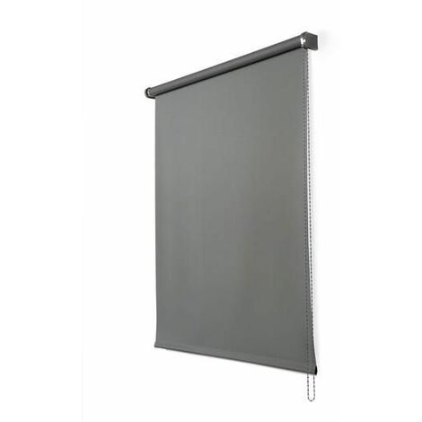 Enrollable Opaco Gris grafito 80X250