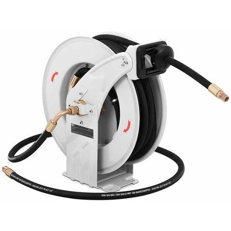 Enrollador De Manguera Para Alta Presión Automático Aire Comprimido 15 M 180 Bar