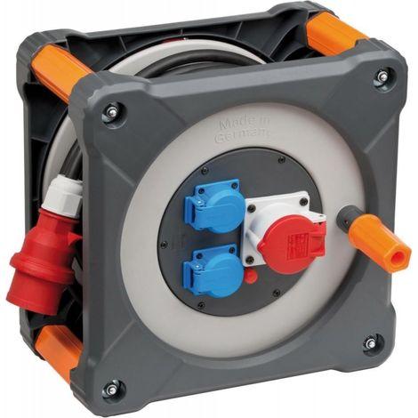 Enrollador eléctrico professionalLINE CEE IP44H07RN-F5G25 30m brennenstuhl