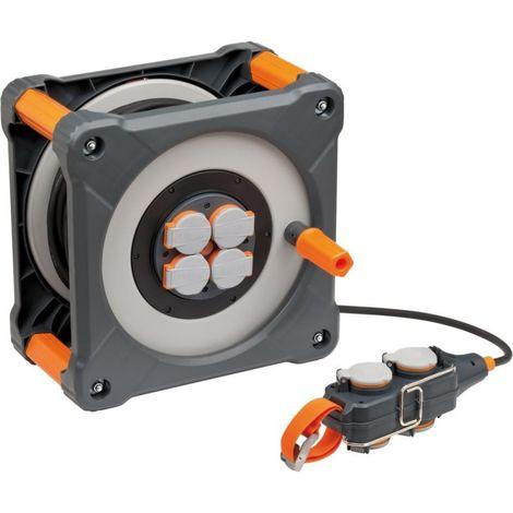 Enrollador eléctrico professionalLINE IP44 H07RN-F3G15 50+5m brennenstuhl