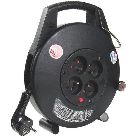 Enrouleur 4 prises 3G1 mm² Brennenstuhl