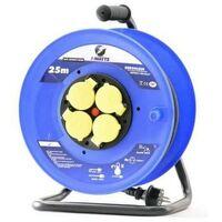Enrouleur 4 Prises-H07Rn-3G2.5Mm²-25M