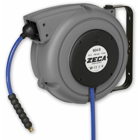 Enrouleur air eau 8 m - 3/8 Zeca 804/10/S