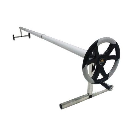 Enrouleur bâche modèle surbaissé Diam 80 mm / 4 à 5 m.