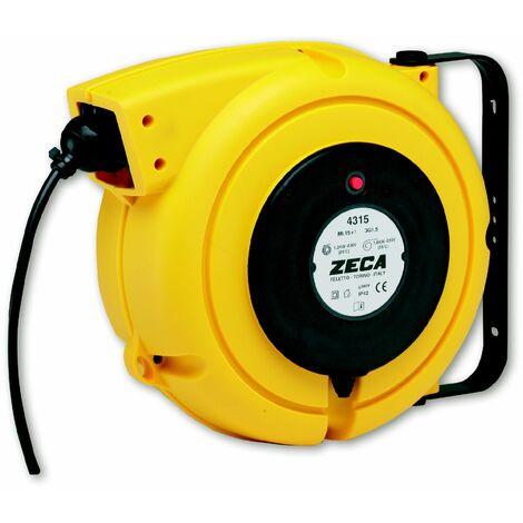 Enrouleur câble électrique 15 m - 3G 2,5 mm² Zeca 4325/15