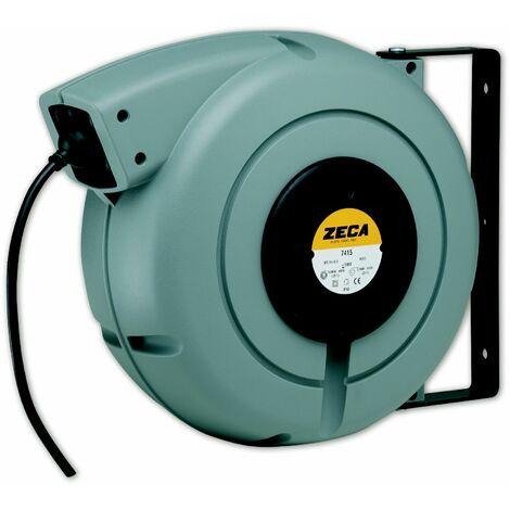 Enrouleur câble électrique 27 m - 3G 1,5 mm² Zeca 7315