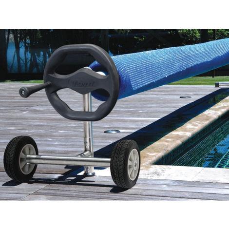 Enrouleur de bâche à bulles Thor pour piscines enterrées jusqu'à 12 x 6 m - Kokido