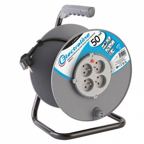 Enrouleur de bricolage 3G1,5 avec disjoncteur- plusieurs modèles disponibles