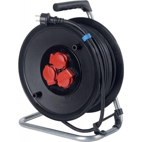 Enrouleur de cable 285mm, 50m H05RR-F3G1,5