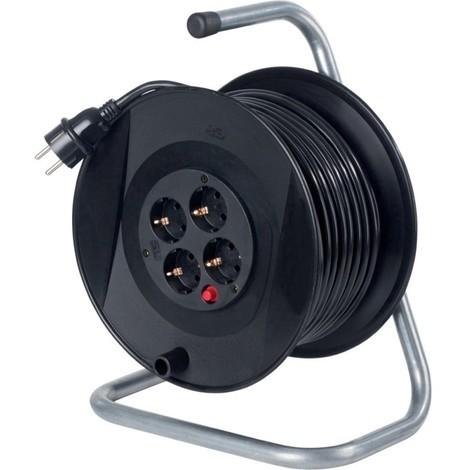 Enrouleur de cable 285mm 50m H05VV-F3G1,5