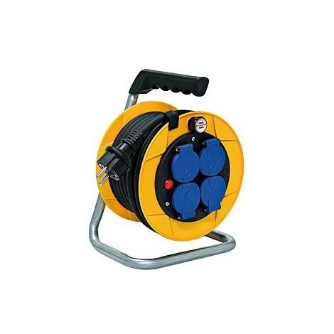 Enrouleur de câble Baby Pro BRENNENSTUHL - IP44 - 10m - H07RN-F 3G1.5 - 1079281
