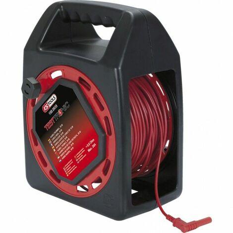 Enrouleur de câble de mesure TESTTRONIC 30m Kstools 362.94