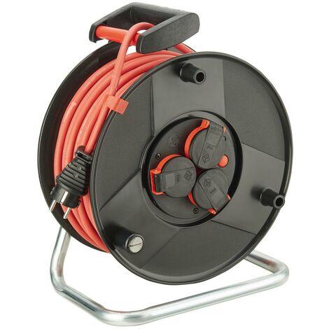 Enrouleur de câble plastique H05RR-F3G1,5 25m FORMAT 1 PCS