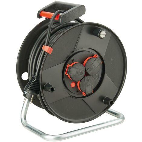 Enrouleur de câble plastique H05RR-F3G1,5 50m FORMAT 1 PCS