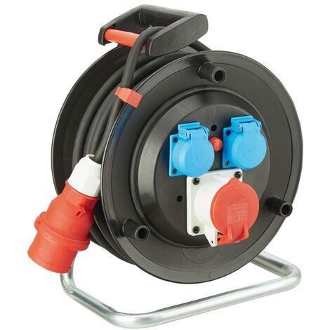 Enrouleur de câble plastique H07RN-F5G2,5 30m FORMAT 1 PCS
