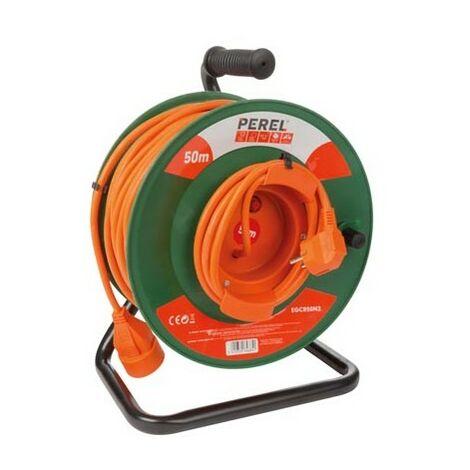 Enrouleur De Câble Pour Jardin 50 M - 3G1.5