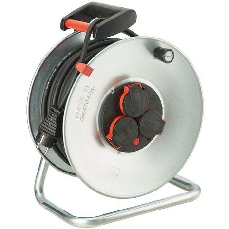 Enrouleur de câble tôle d'acier H07RN-F3G2,5 25m FORMAT 1 PCS