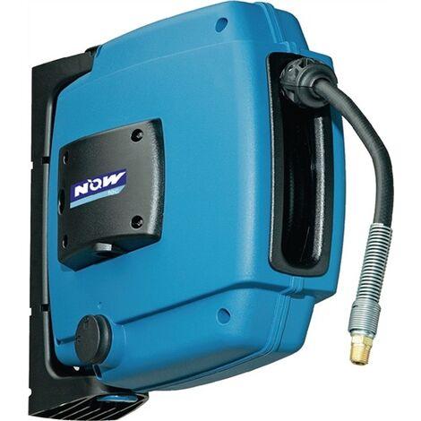 Enrouleur de tuyau à air comprimé Application pour air comprimé Longueur du tuyau 12 m inclinable Raccord de sortie 1/4 ?