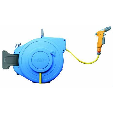 enrouleur de tuyau automatique 18.5m - water reel pro - water reel