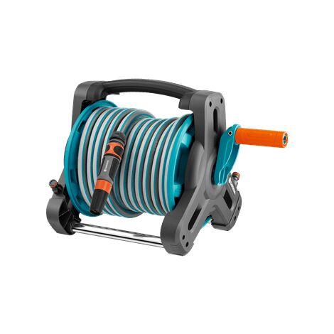 Enrouleur de tuyau d'arrosage 1/2 pouces GARDENA 08010-20 10 m Q017351