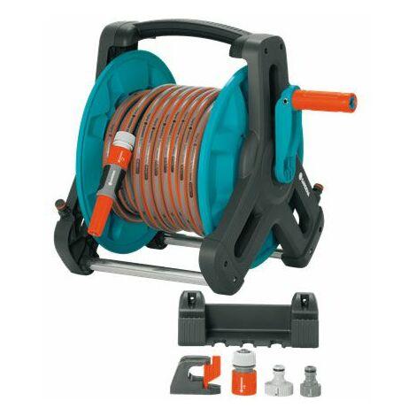 Enrouleur de tuyau darrosage 1/2 pouces GARDENA 8009-20 20 m