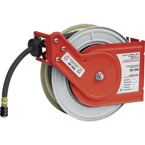 Enrouleur de tuyau pneumatique Holzmann Maschinen LSR15HQ H050400007 20 bar 15 m Q869831