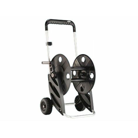 Enrouleur de tuyau sur roues Claber Silveral 8977 pour un tuyau de 50 mètres. 5/8 ou 60m 1/2.