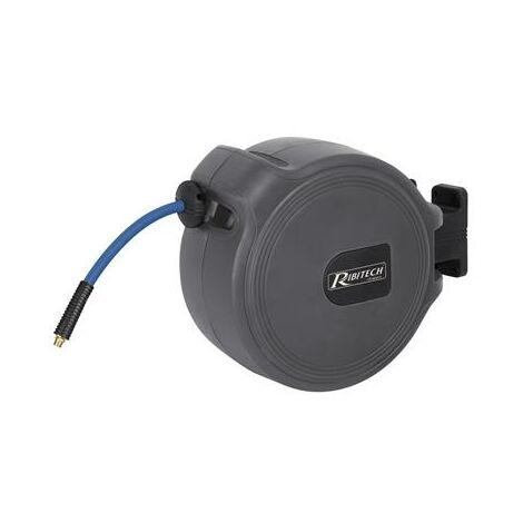 Enrouleur dévidoir automatique pneumatique pro 15 mètres pour compresseur