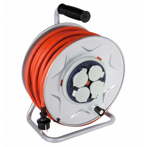 Enrouleur DHOME professionnel 3G2,5 mm²
