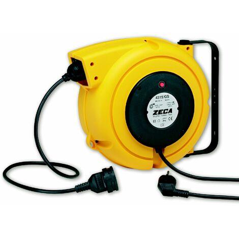 Enrouleur électrique 14 m - 3G 1,5 mm² Zeca 4315/GS