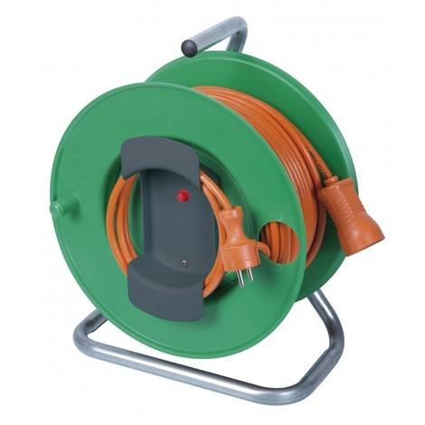 Enrouleur électrique 25 M 3100 W - RIBILAND - H05vvf - 3G1.5
