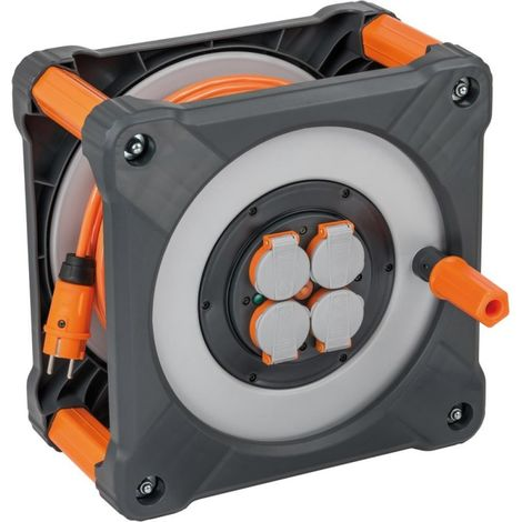 Enrouleur électrique IP44 H07BQ-F3G15 50m brennenstuhl
