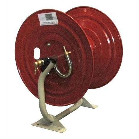 """Enrouleur métallique sur base AMA pour 100 m de tuyau 1/2"""""""
