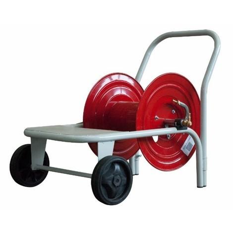 """Enrouleur métallique sur chariot AMA pour 100 m de tuyau 1/2"""""""