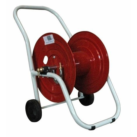 """Enrouleur métallique sur roues AMA pour 100 m de tuyau 1/2"""""""