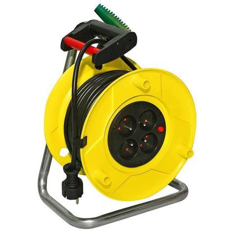 Enrouleur standard Rol'up 30m H05VV-F 3G1.5 - Brennenstuhl - 1323821