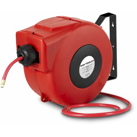 Enrouleur tuyau d'air 12 m - 13mm MW-Tools HAL01212CG