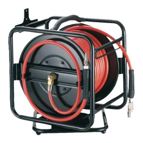 Enrouleur tuyau d'air AA3008R AERFAST - 30m 8Bar - AFL0001