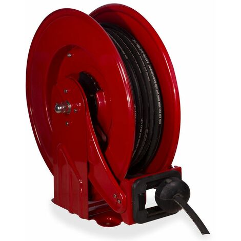 Enrouleur tuyau de graisse 3/8 400 bars 15 m MW-Tools SHV3815