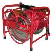 Enrouleur tuyau pneumatique haute pression D. 6 x 10 mm x L. 30 M - SD630A2 - Alsafix - -