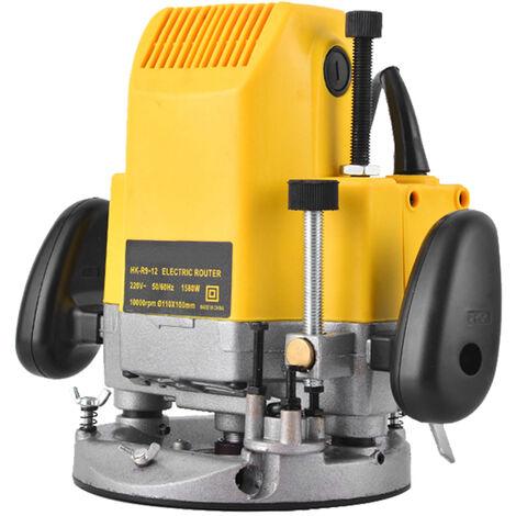 Enrutador de madera de 220 V, maquina de grabado electrica, cortadora de madera, fresadora